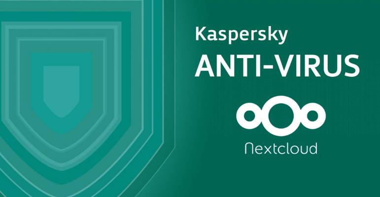 Nextcloud intègre la protection antivirus de Kaspersky