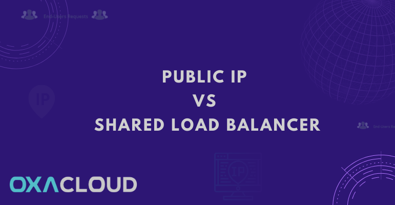 IP publique Vs équilibreur de charge partagé (Shared Load Balancer)